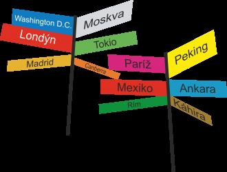 kurz sprievodca a delegát cestovného ruchu