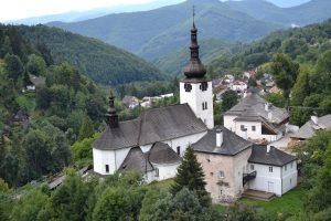 špania dolina-kostol premenenia pana z roku 1254