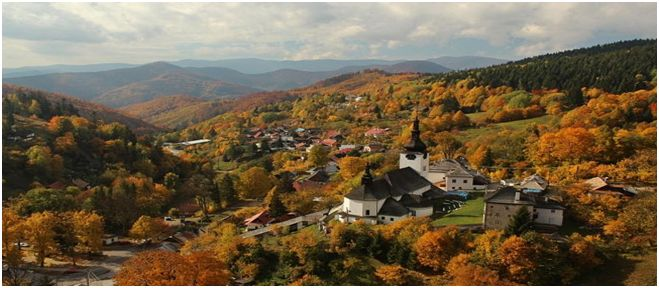 Špania dolina-Na rozhraní Veľkej Fatry a Nízkych Tatier